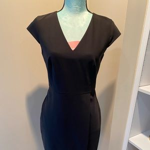 Classic black work dress